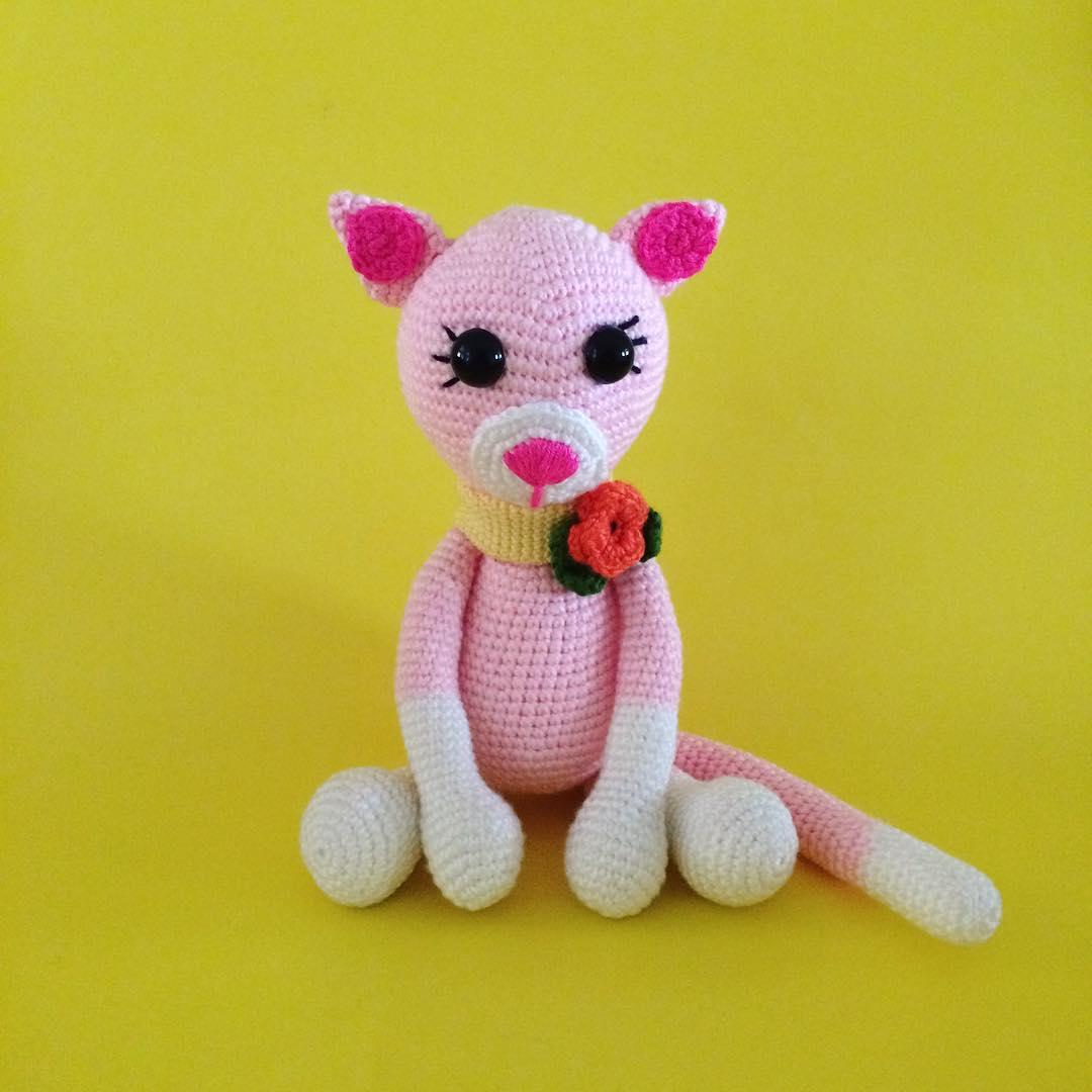Amigurumi cat 17 cm tall Crochet pattern by CrochetArtDesign ... | 1080x1080