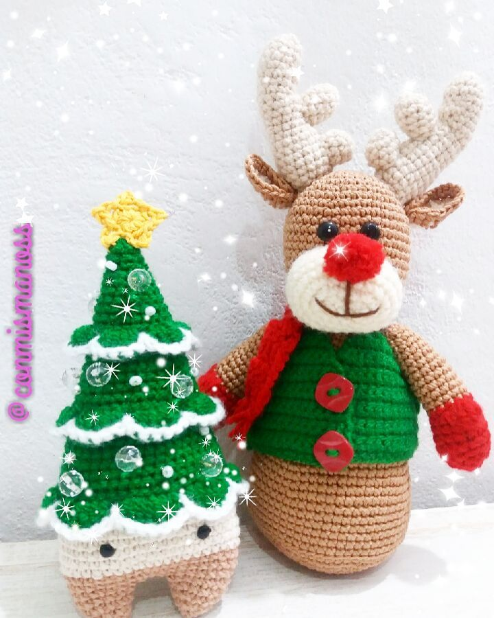 33 Christmas Crochet Patterns You Need To Start Making Today! | 900x720
